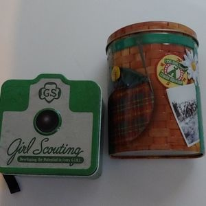 Girl Scouts tins